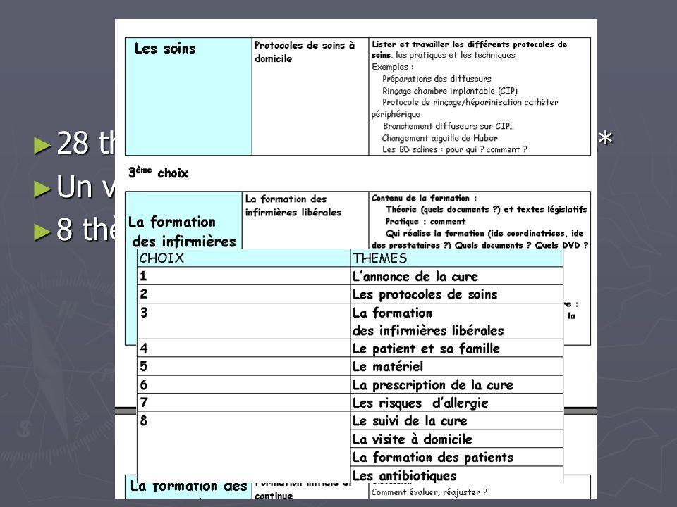 « Un essaimage » Pour faire le lien avec le groupe infirmier de la SFM : Pour faire le lien avec le groupe infirmier de la SFM : « Essaimage » des productions vers des CRCM dautres régions de France (diagramme de soins, présentation CCI, PAI…) « Essaimage » des productions vers des CRCM dautres régions de France (diagramme de soins, présentation CCI, PAI…) Un modèle de fonctionnement Un modèle de fonctionnement