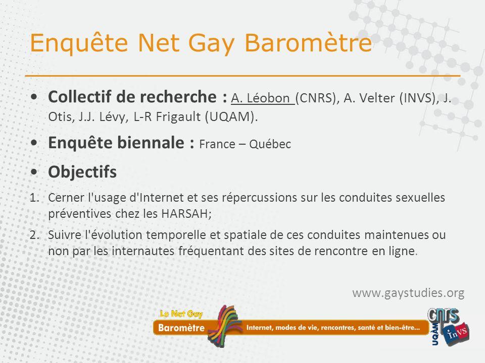 Enquête Net Gay Baromètre Collectif de recherche : A.