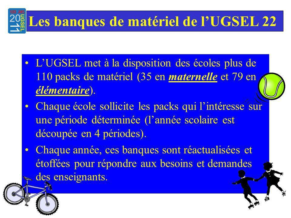 LUGSEL met à la disposition des écoles plus de 110 packs de matériel (35 en maternelle et 79 en élémentaire).