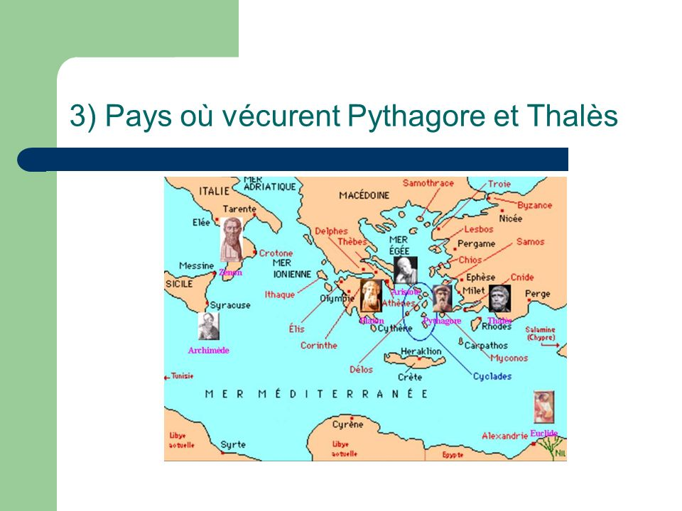 Légendes et anecdotes 1) Quelle pyramide Thalès aurait-il mesuré .