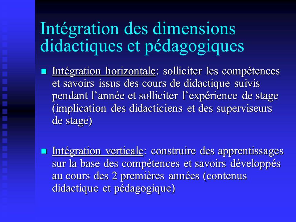 An 1 (2005-2006) 5 groupes 2 formateurs (1 prof./1 cc) 4 formateurs (1 prof./3 cc) Didactique des sc.