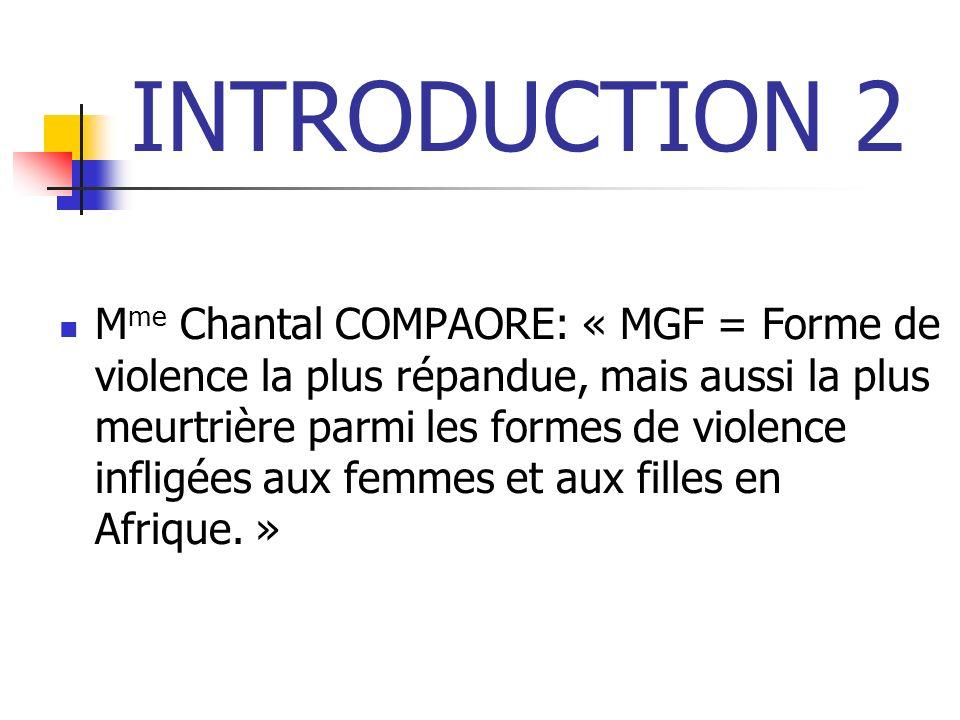 RECOMMANDATIONS 1 Créer des sous-comités du REMAO affiliés aux comités nationaux de lutte contre les MGF.