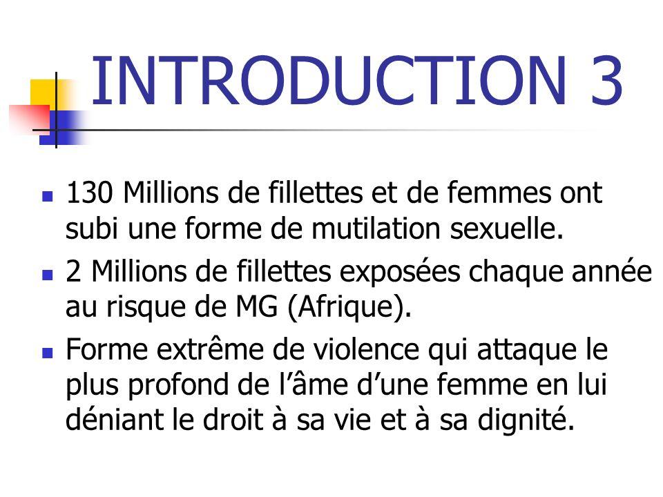 SITUATION DES MGF EN GUINEE