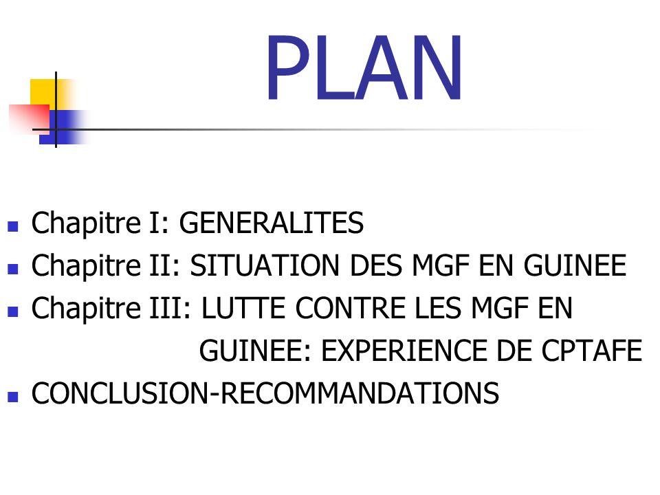 SITUATION EN GUINEE 4 AGE Moyenne Guinée: 4 à 8 ans.