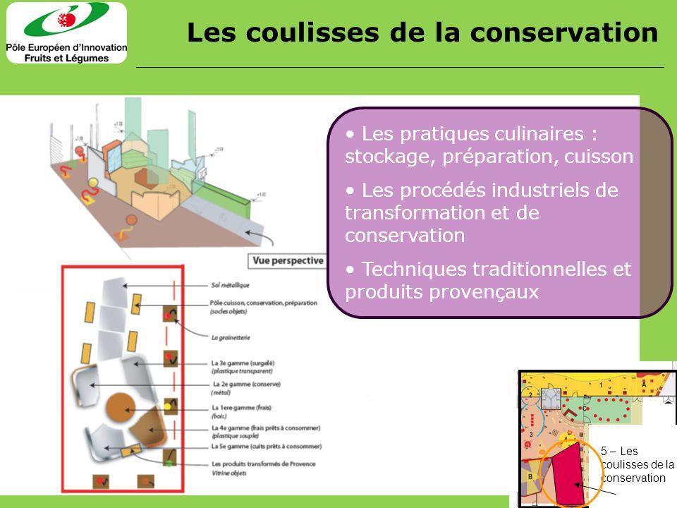 Les pratiques culinaires : stockage, préparation, cuisson Les procédés industriels de transformation et de conservation Techniques traditionnelles et