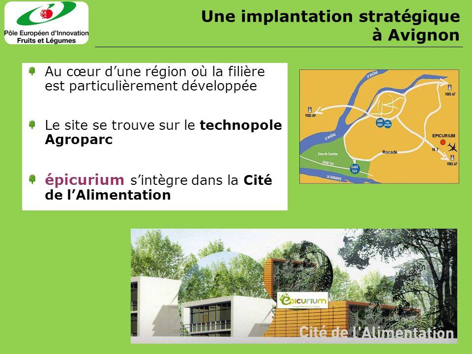 Au cœur dune région où la filière est particulièrement développée Le site se trouve sur le technopole Agroparc épicurium sintègre dans la Cité de lAli