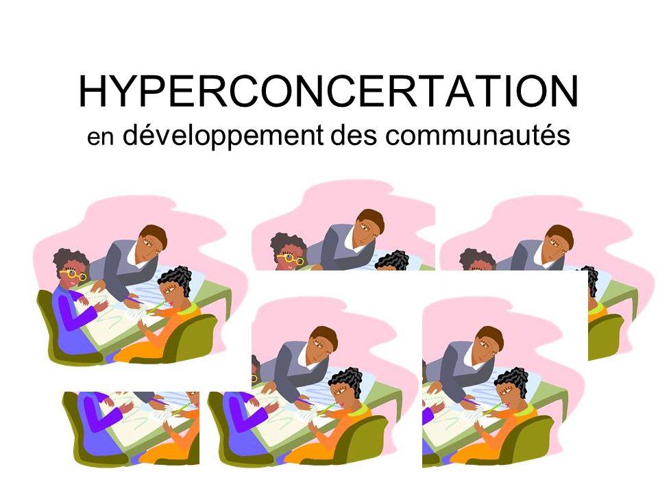 HYPERCONCERTATION en développement des communautés