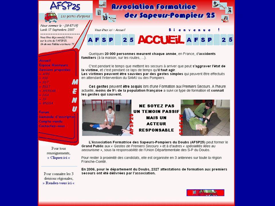 BERNARDIN Benoît Lycée Louis Pergaud Analyse des exigences Avoir un lien sur le site permettant la re-direction à un forum actif de l AFSP25.