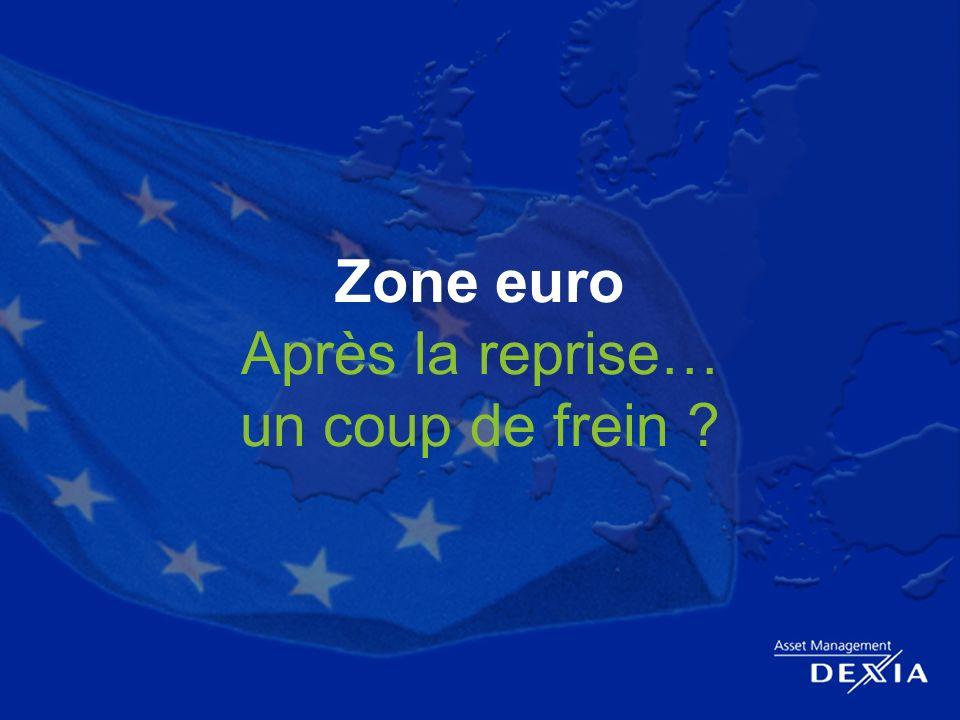 14 Zone euro Après la reprise… un coup de frein