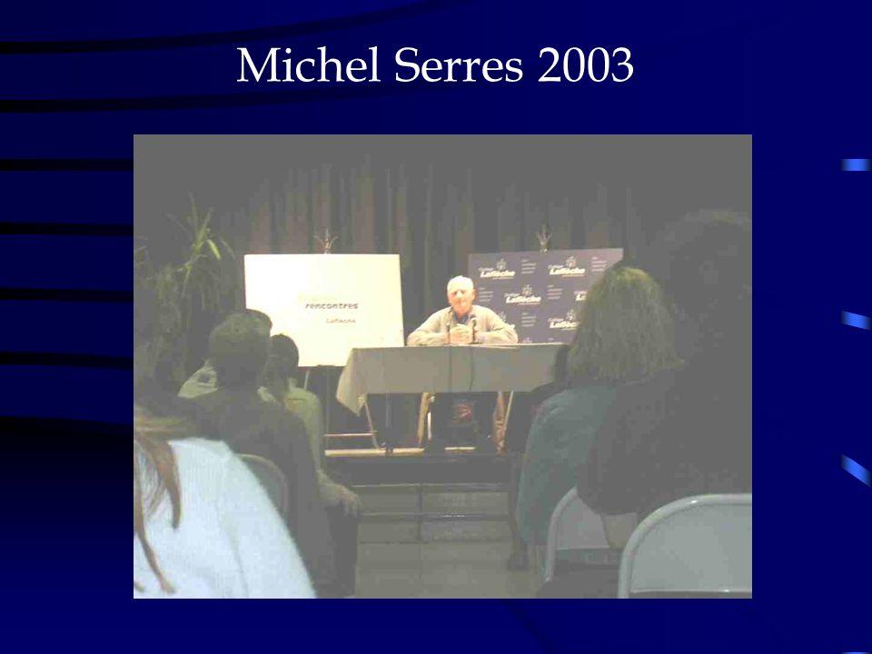 Michel Serres 2003