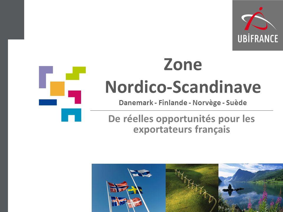 Zone Nordico-Scandinave Danemark - Finlande - Norvège - Suède De réelles opportunités pour les exportateurs français