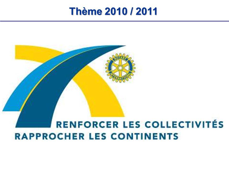 Thème2010 / 2011 Thème 2010 / 2011