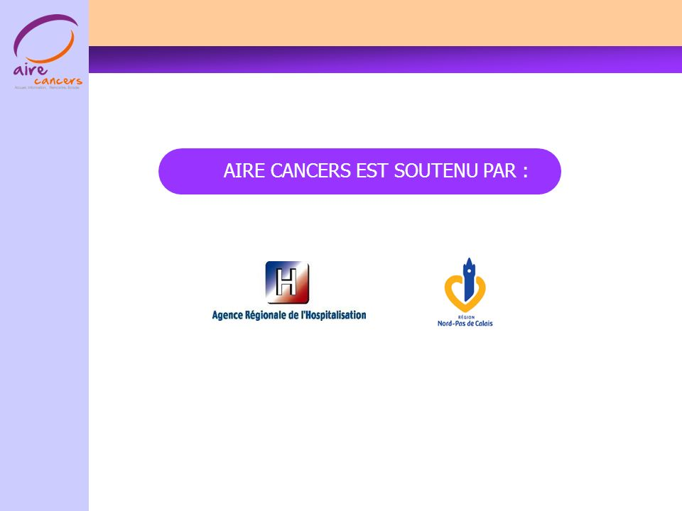 AIRE CANCERS EST SOUTENU PAR :