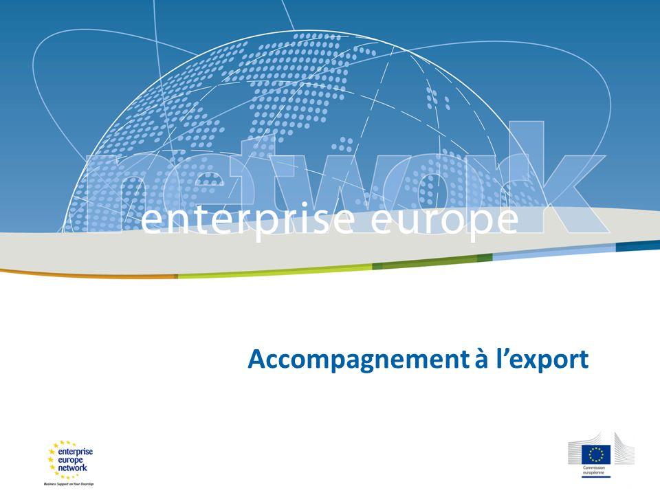 LUE et linternationalisation des PME LUE nintervient pas sur la thématique des aides à linternationalisation des PME en vertu du principe de subsidiarité.