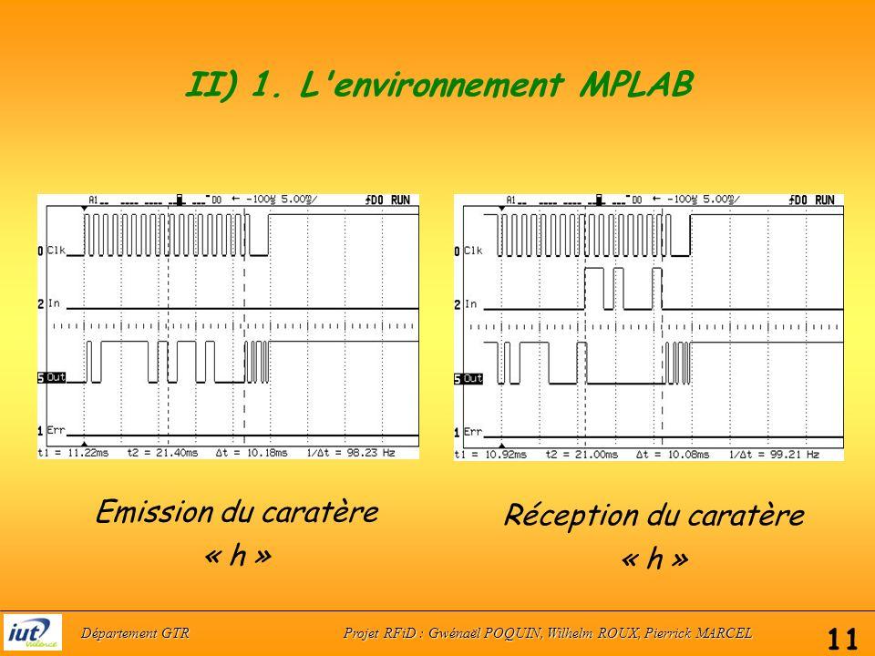 II) 1.L environnement MPLAB c.