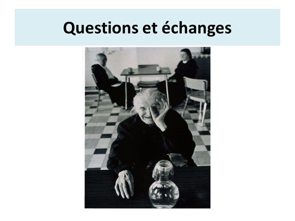 Questions et échanges