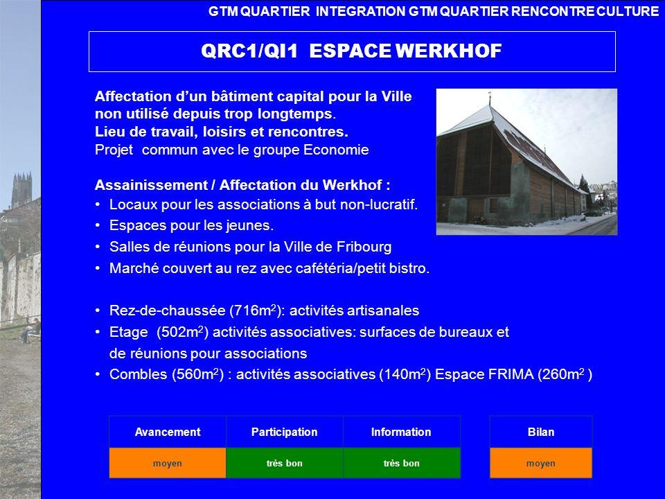 Ville de Fribourg Des études aux actions 20 novembre 2008 Réaffectation du bâtiment de lAncienne gare pour une maison de la culture portée par différentes associations.