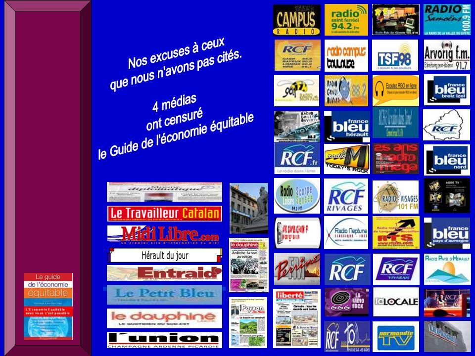 Sylvie Mayer Député européen 1979-1994 – Jean Pierre Caldier consultant Lactualité du Guide de léconomie équitable http://guideeconomieequitable.blogspot.com Des propositions pour les communes et départements http://municipalesguideeconomieequitable.blogspot.com Le mois de léconomie sociale et solidaire en France http://guideeconomieequitablelemoisess.blogspot.com Les prix du Guide de léconomie équitable http://lesprixduguideeconomieequitable.blogspot.com Le Tourisme écologique responsable equitable http://tourismeguideeconomieequitable.blogspot.com Dun phénomène de société à un projet de société - Agir en équipe municipale -Créer un groupe daction et de «lobbying » -Créer et faire vivre des Comités Locaux du Commerce (CLdC) -Créer un circuit court producteur/fabricant - consommateurs -Agir dans sa banque (coopérative-mutuelle) -Agir dans sa mutuelle dassurance ou de santé -Organiser une semaine-quinzaine-mois de sensibilisation… … Une série «doutils» proposés à des «groupes locaux de citoyens» pour agir (en cours détude et de réalisation) Le Guide de léconomie équitable