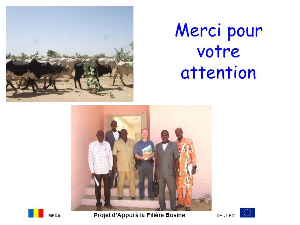 MERA Projet dAppui à la Filière Bovine UE - FED Merci pour votre attention