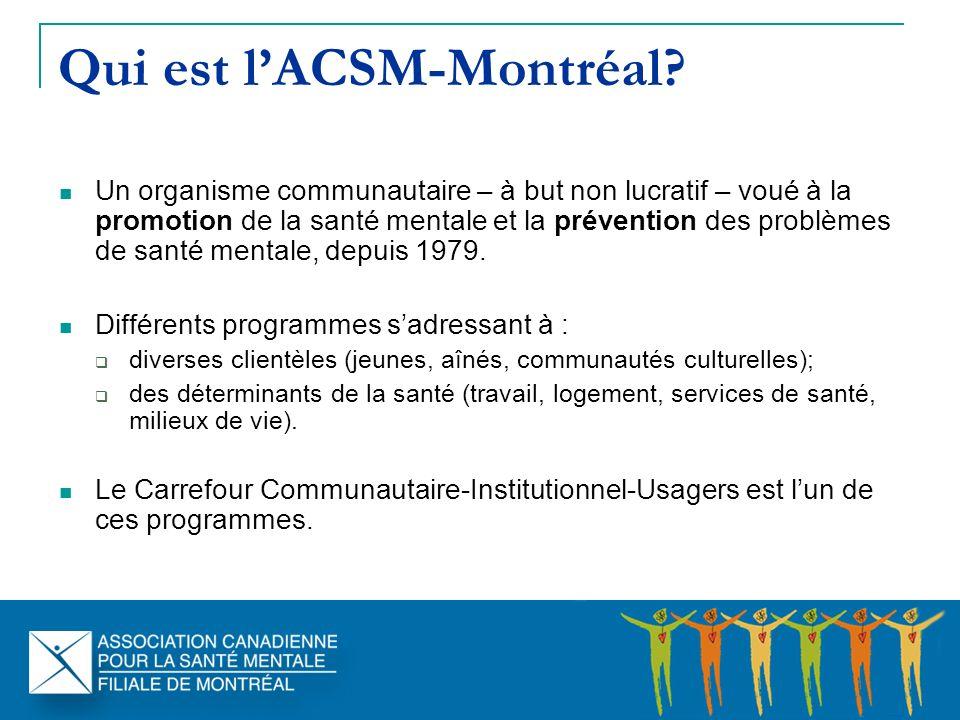 Qui est lACSM-Montréal.