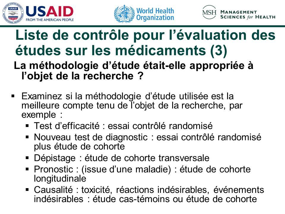 Exemple dessai contrôlé randomisé (3) Méropénem contre imipénem/cilastatine (suite) Comparaison Eradication des bactéries (86%) Taux defficacité (90%)