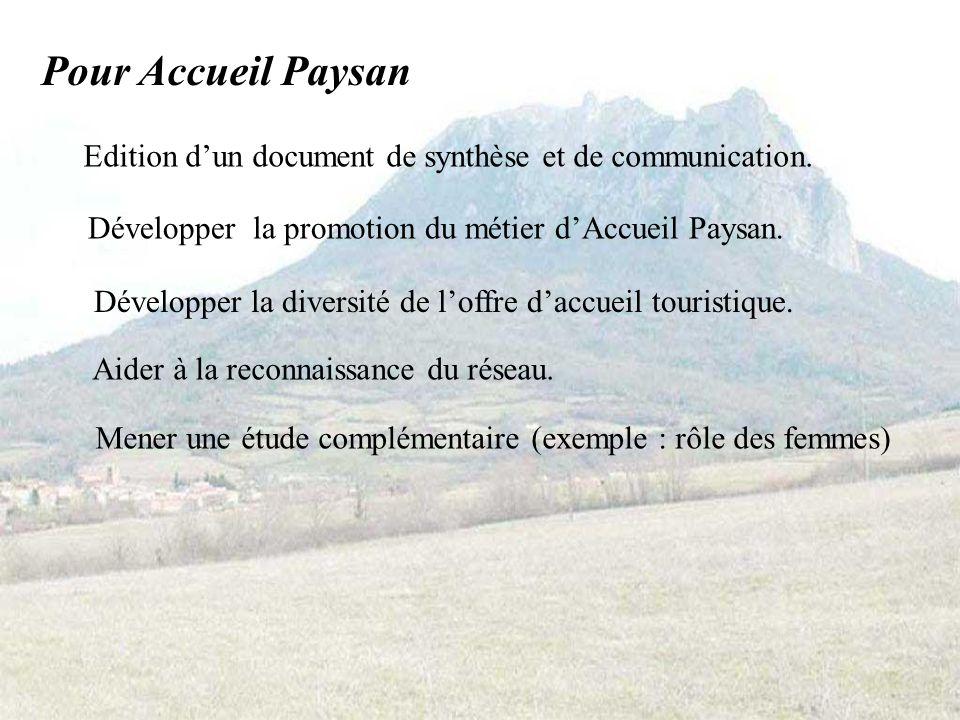 Suites de la RAPE (Recherche Action Petites Exploitations) 2005-2006 : Poursuite du travail denquête et danalyse.