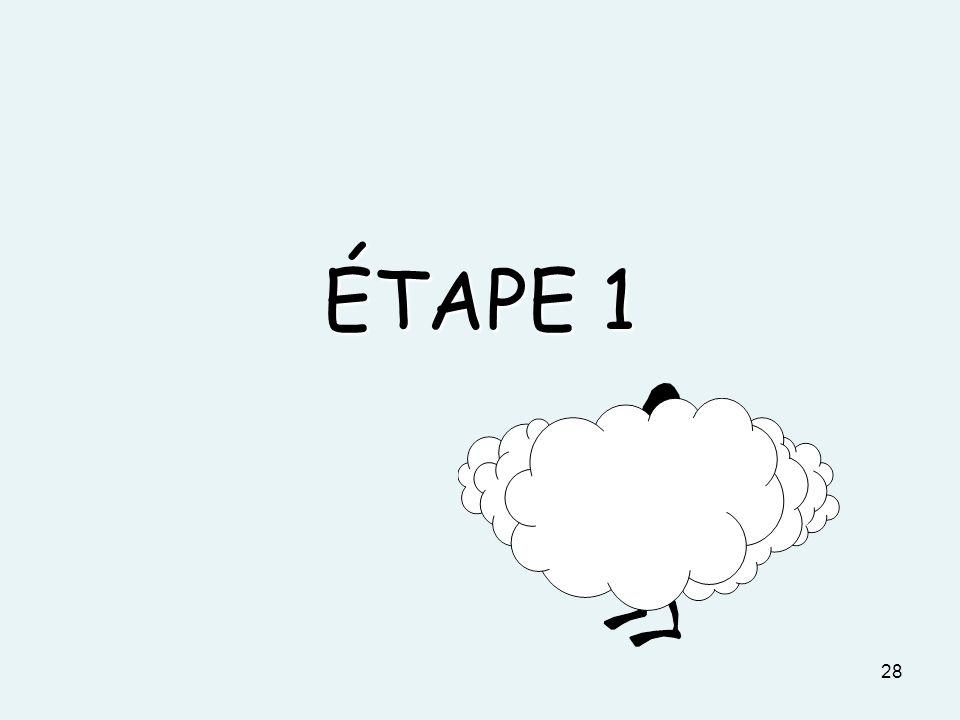 ÉTAPE 1 28