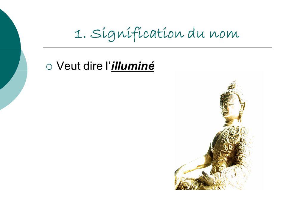 1. Signification du nom Veut dire lilluminé