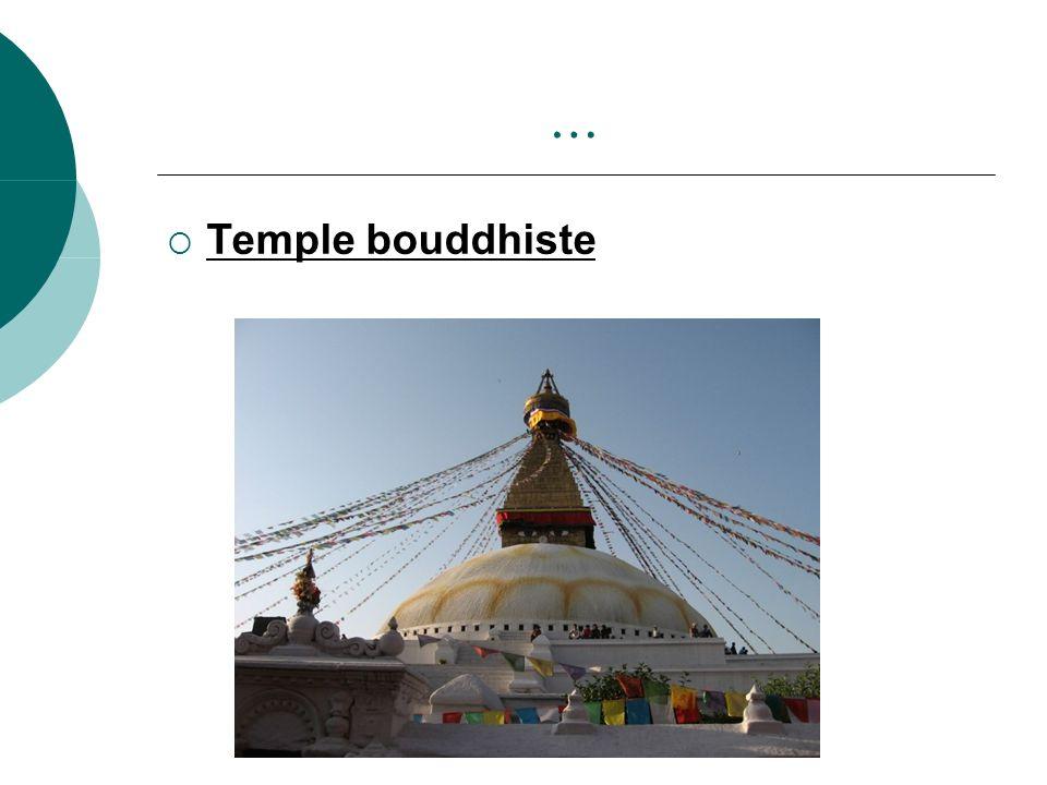 … Temple bouddhiste