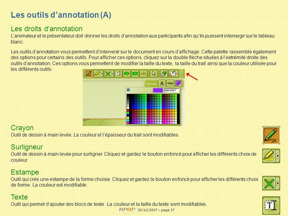 APOP37 Crayon Outil de dessin à main levée. La couleur et lépaisseur du trait sont modifiables. Surligneur Outil de dessin à main levée pour surligner