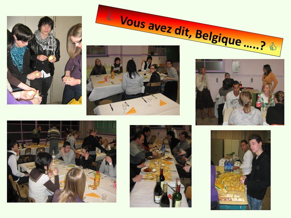 Vous avez dit, Belgique …..