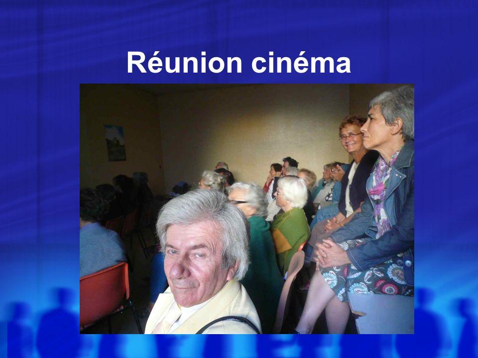 Réunion cinéma
