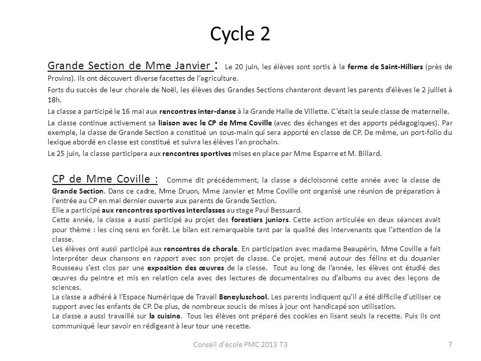Cycle 2 Grande Section de Mme Janvier : Le 20 juin, les élèves sont sortis à la ferme de Saint-Hilliers (près de Provins). Ils ont découvert diverse f