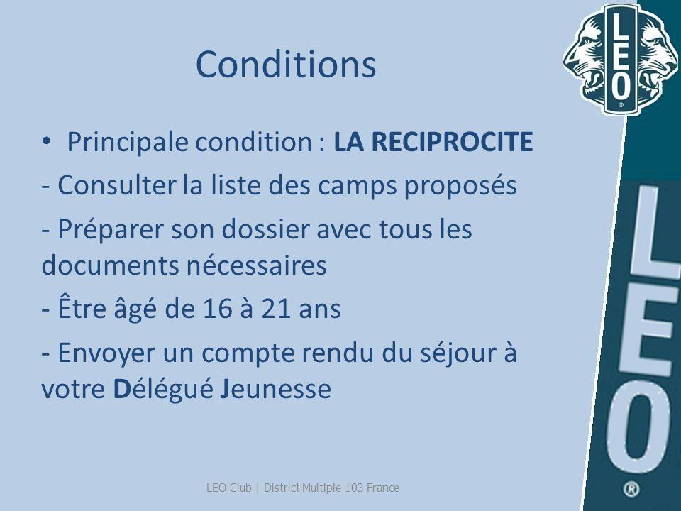 Rencontres Défilé des Nations Conférences Journée spéciale LEO LEO Club | District Multiple 103 France La Convention Internationale Du 5 au 9 juillet 2013