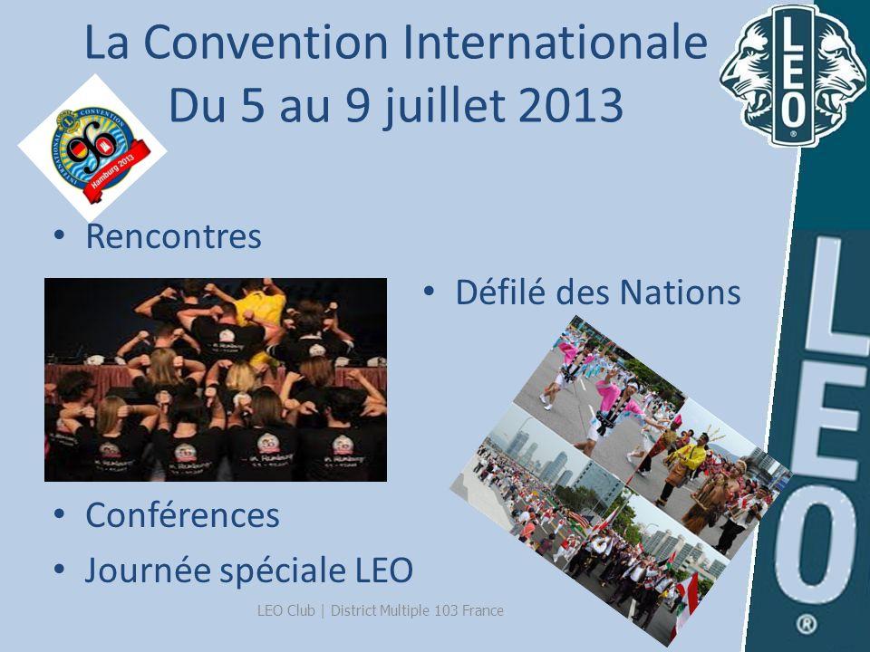 Les prochains évènements LCIC - Hambourg : du 5 au 9 juillet 2013 LEF -Finlande : du 10 au 17 aout 2013 Lions Europa Forum -İstanbul : du 31 oct.