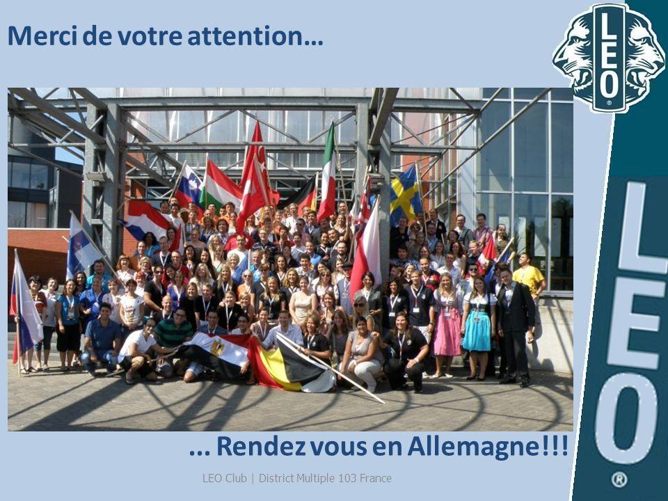 Merci de votre attention…... Rendez vous en Allemagne!!!