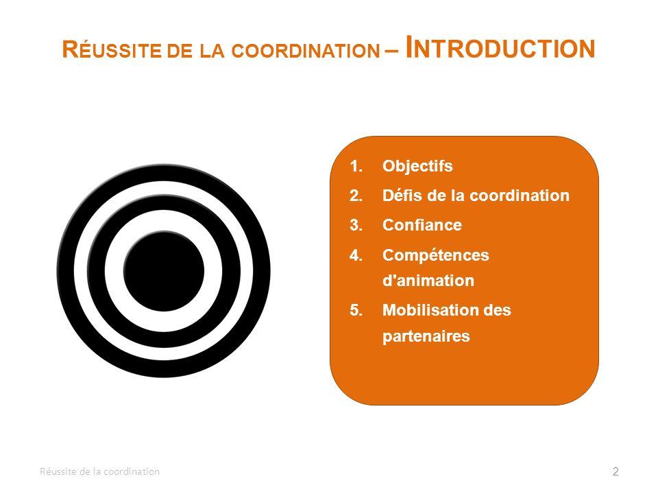 1.Identifier les avantages et la complémentarité de différentes approches organisationnelles à la sécurité alimentaire.
