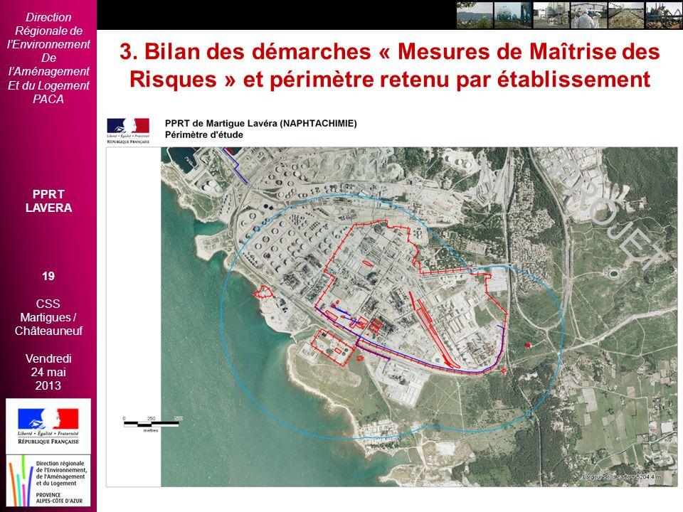 Direction Régionale de lEnvironnement De lAménagement Et du Logement PACA PPRT LAVERA 19 CSS Martigues / Châteauneuf Vendredi 24 mai 2013 2èmes Rencon