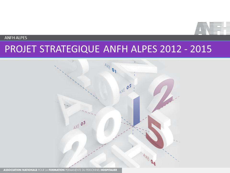 PROJET STRATEGIQUE ANFH ALPES 2012 - 2015 ANFH ALPES