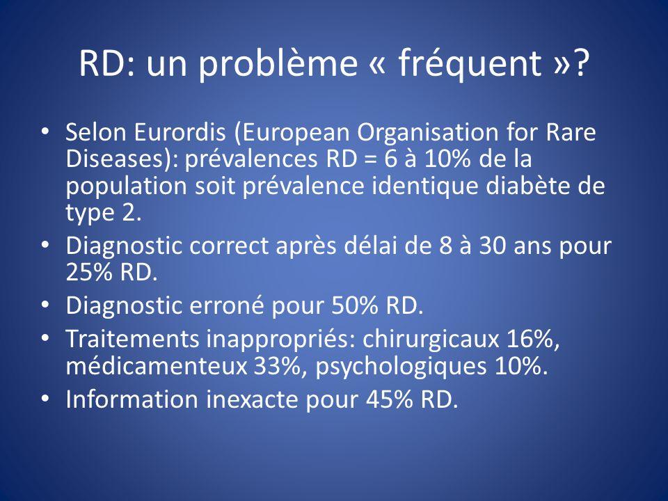 RD: un problème « fréquent ».
