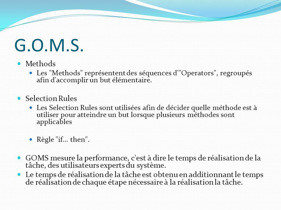 G.O.M.S. Methods Les