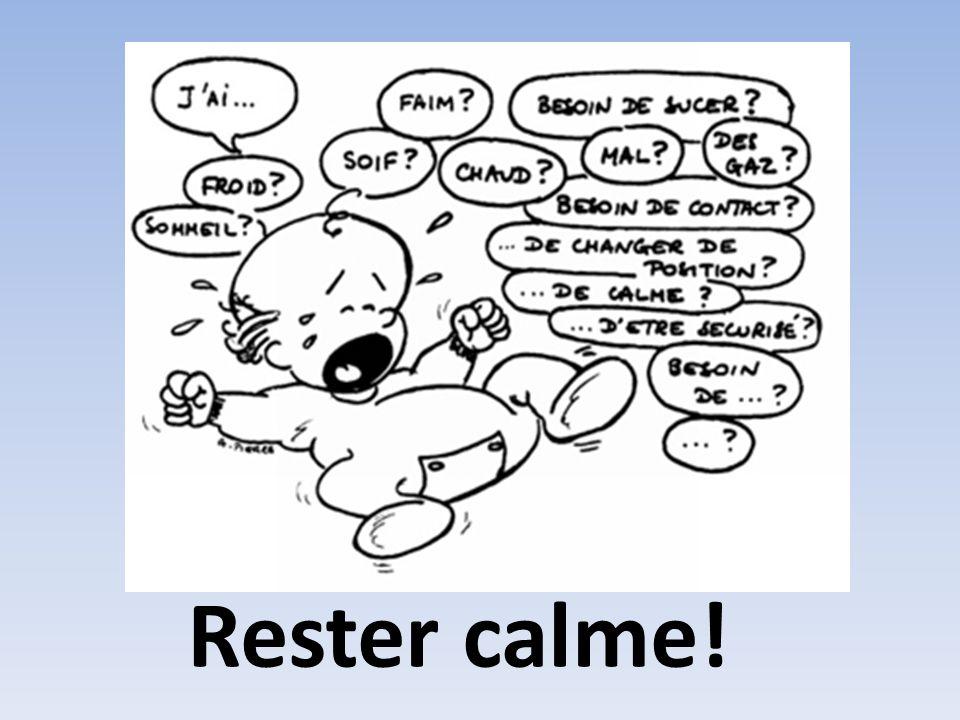 Rester calme!