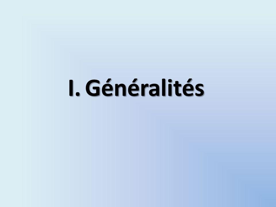 I.Généralités