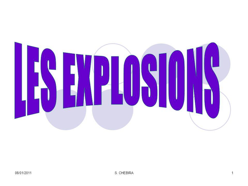 Le B.L.E.V.E B B oiling (Ebullition) L L iquid (Liquide) E E xpanding (Dilatation) V V apor (Vapeur) E E xplosion (Explosion) 08/01/201112S.
