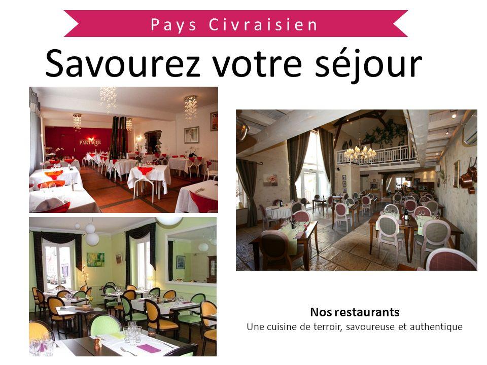 Pays Civraisien Savourez votre séjour Nos producteurs locaux Pour satisfaire toutes vos envies gourmandes
