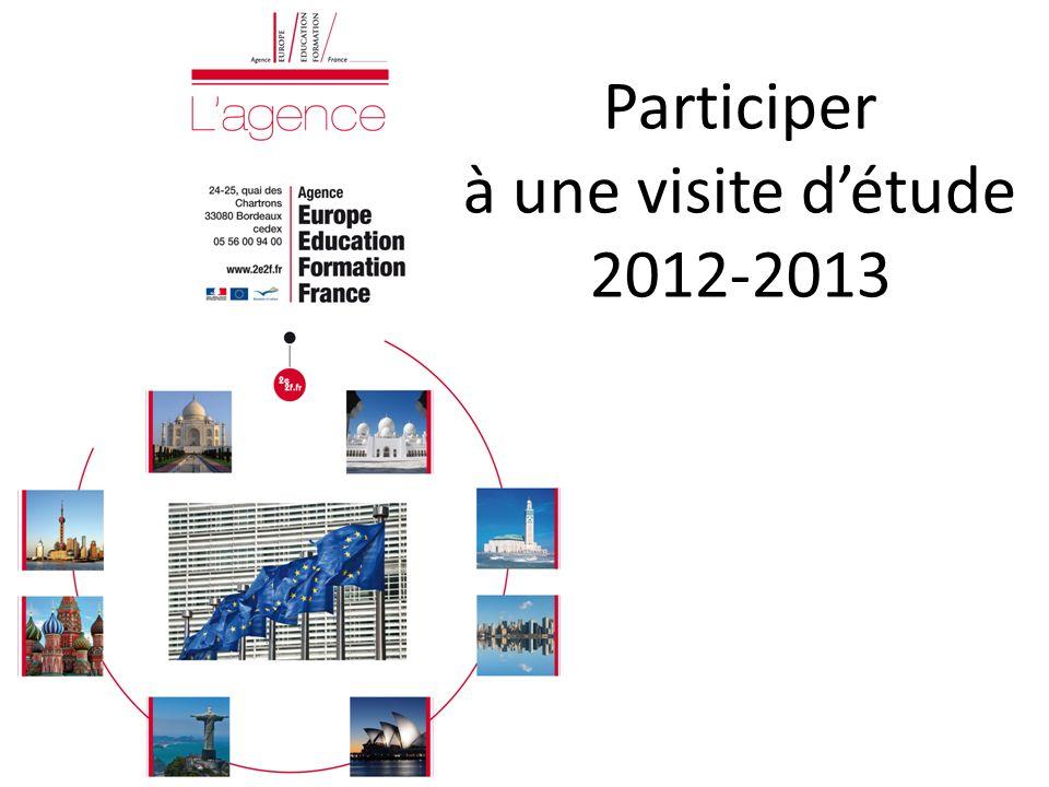 Participer à une visite détude 2012-2013