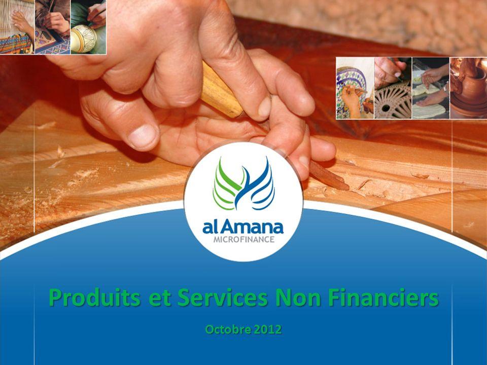 Produits et Services Non Financiers Octobre 2012