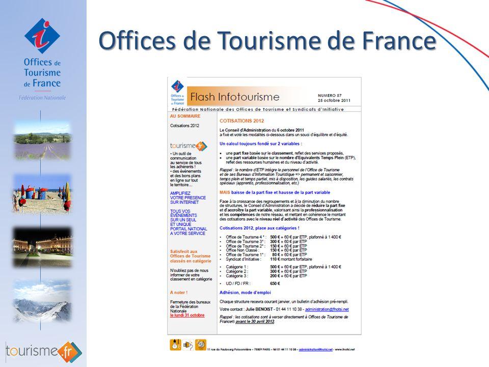 Offices de Tourisme de France Offices de Tourisme de France