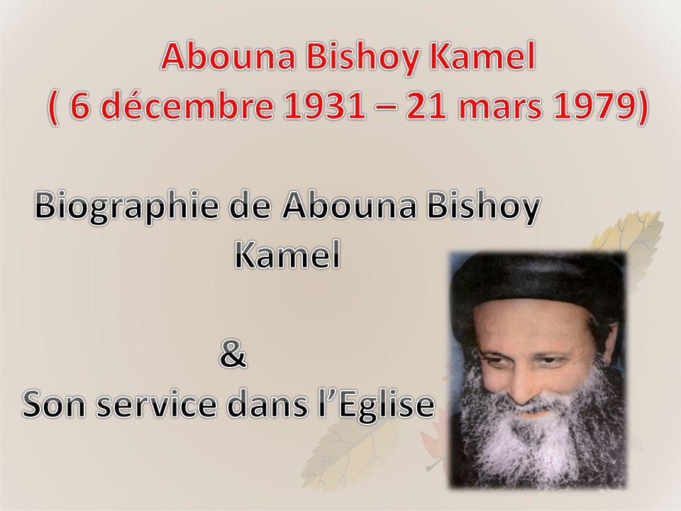 Son service a commencé a lEglise de Saint Georges Sporting à Alexandrie en Egypte.
