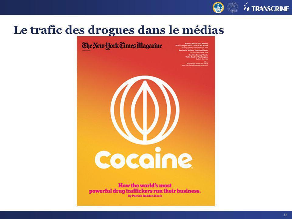 11 Le trafic des drogues dans le médias